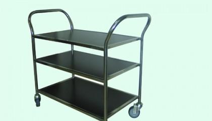 Сервитьорска количка 3 ПДЧ плота и рама_003001
