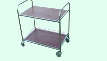 Сервитьорска количка 2 ПДЧ плота и рама_003001-2