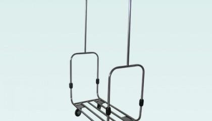 Щендерна багажна количка – inox