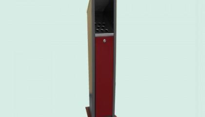 Пепелник с полимерно покритие